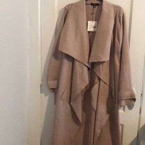 Misguided Oversized Duster Coat